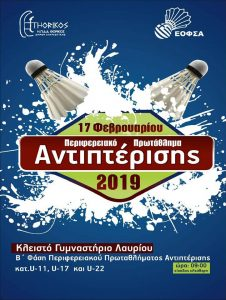 Αφίσα Β'Φάσης ΠΡΟ – Παμπαίδων – ΠΡΟ – Παγκορασίδων U11,Παίδων – Κορασίδων U17 και Νέων Ανδρών – Νέων Γυναικών U22.