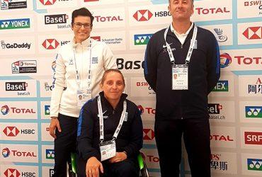 Γλυκονεριώτικη Παρουσία στο Παγκόσμιο Πρωτάθλημα Αντιπτέρισης ΑμεΑ ( Para Badminton ) στην Βασιλεία.